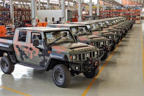 Agrale fornece viaturas Marruá para militares argentinos