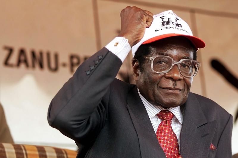 Robert Mugabe governou Zimbábue por 37 anos