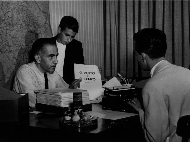 Erico Verissimo morou em Washington no período de  1953 a 1956
