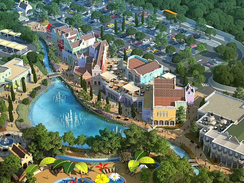 Complexo turístico termal Amsterland fica a 12 quilômetros do centro de Santa do Livramento