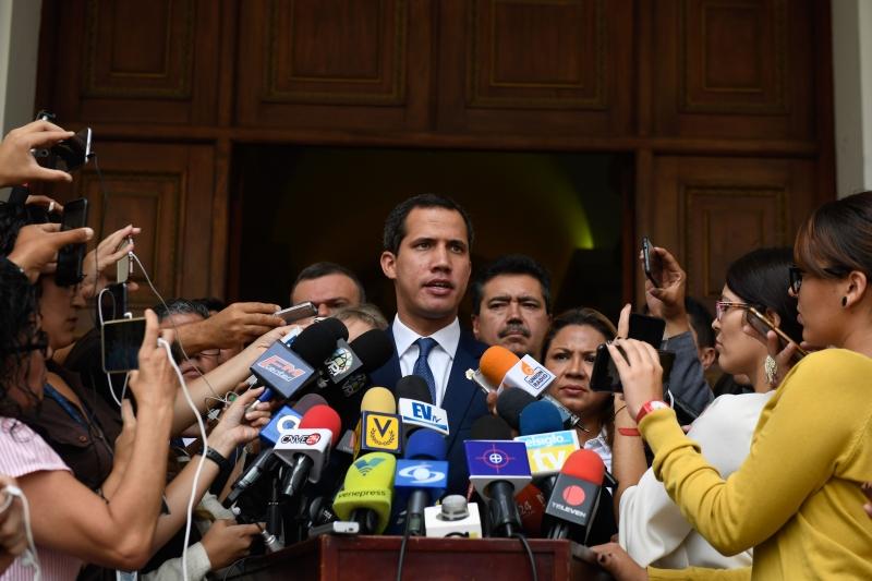 Uso dos termos do pacto é defendido pelo autoproclamado presidente Juan Guaidó