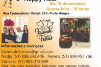 Carmen Lessa realiza segunda edição do Happy Hour Falando de Festas