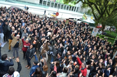 Servidores do Judiciário gaúcho entram em greve a partir do dia 24