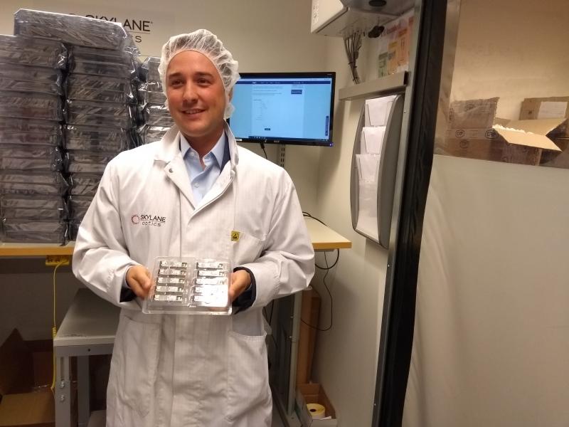 Mercado brasileiro é importante para a fabricante de transceptores óticos Skylane, diz Quentin Bolle