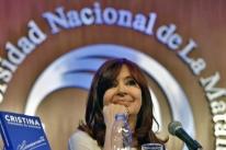 Para 45% dos argentinos, Cristina Kirchner é quem vai governar