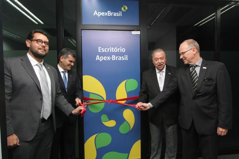 Espaço da agência foi instalado na sede da Fiergs, em Porto Alegre