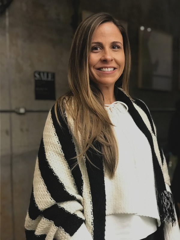 A nutricionista Fernanda Muller Laguer no evento que falou sobre saúde e beleza feminina, na Galeria Casa Prado