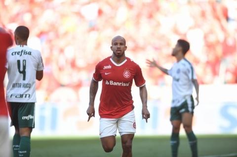 VAR anula gol no final e Inter fica no empate contra o Palmeiras no Beira-Rio