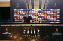 'Se Grêmio não passar, serei torcedor do Flamengo na final', diz Renato Portaluppi
