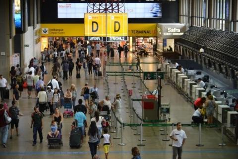 Nove aeroportos do País estão entre os mais pontuais