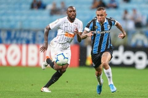 Corinthians anula ataque do Grêmio e arranca empate por 0 a 0 na Arena