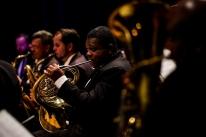 Banda Municipal toca trilhas sonoras no pátio do Museu Joaquim Felizardo