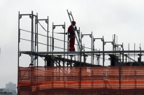 Ociosidade na indústria da construção é a menor dos últimos cinco anos