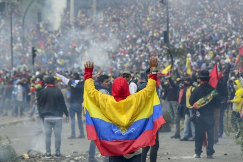 Indígenas lideram greve geral no Equador
