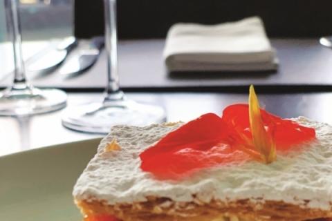 Uma das atrações é a sobremesa pode ser mil-folhas de doce de abóbora e nata batida