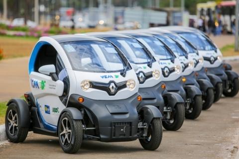 Renault participa de projeto de carsharing em Brasília