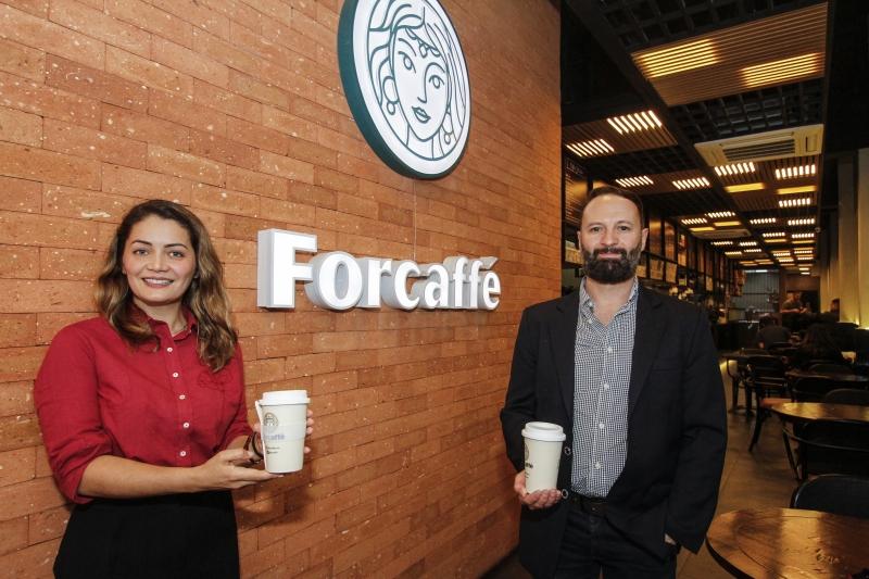 Silvia e Silvio Formenton são sócios do Forcaffé