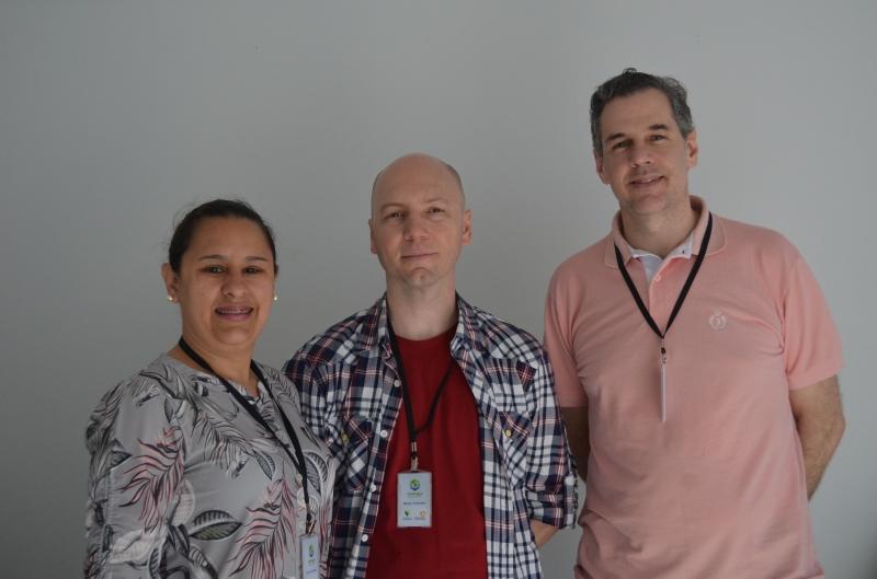Luciana, Márcio e Mauro empreendem desde 2010 no projeto