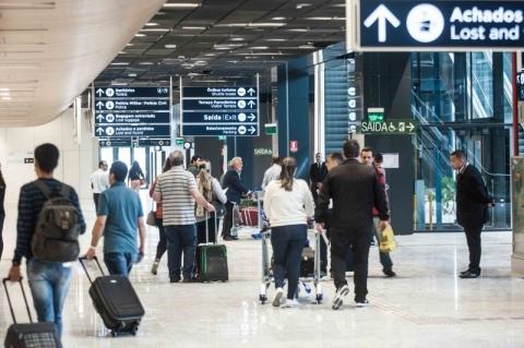 Aeroportos têm a melhor avaliação em pesquisa