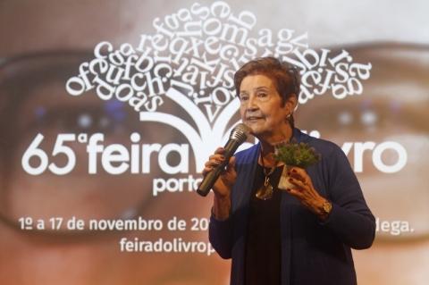 Marô Barbieri será a patrona da Feira do Livro de Porto Alegre