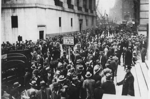 Os 90 anos da crise de 1929