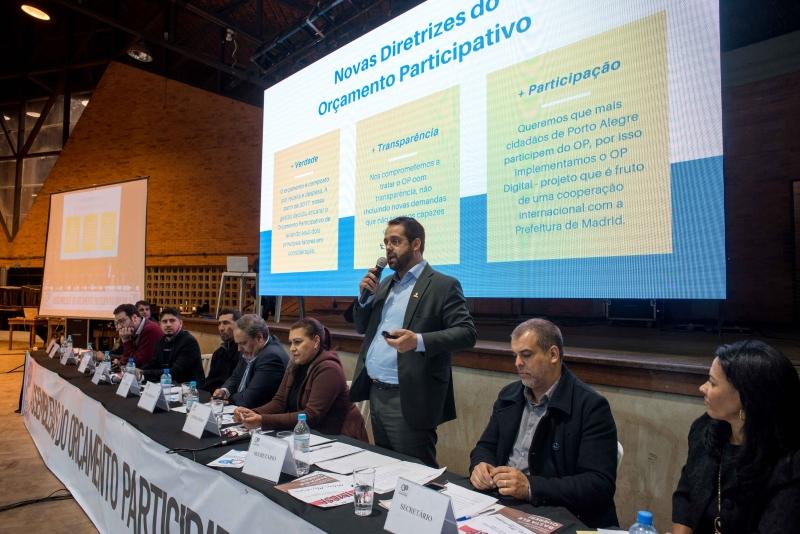 Ciclo de reuniões temáticas, que precede debates regionais, se encerrou com discussão sobre área da saúde
