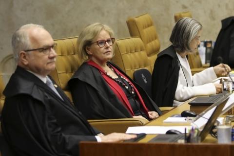 No STF, Rosa Weber vota contra prisão em segunda instância