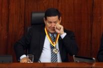 Mourão recebe medalha do Mérito Farroupilha na Assembleia gaúcha