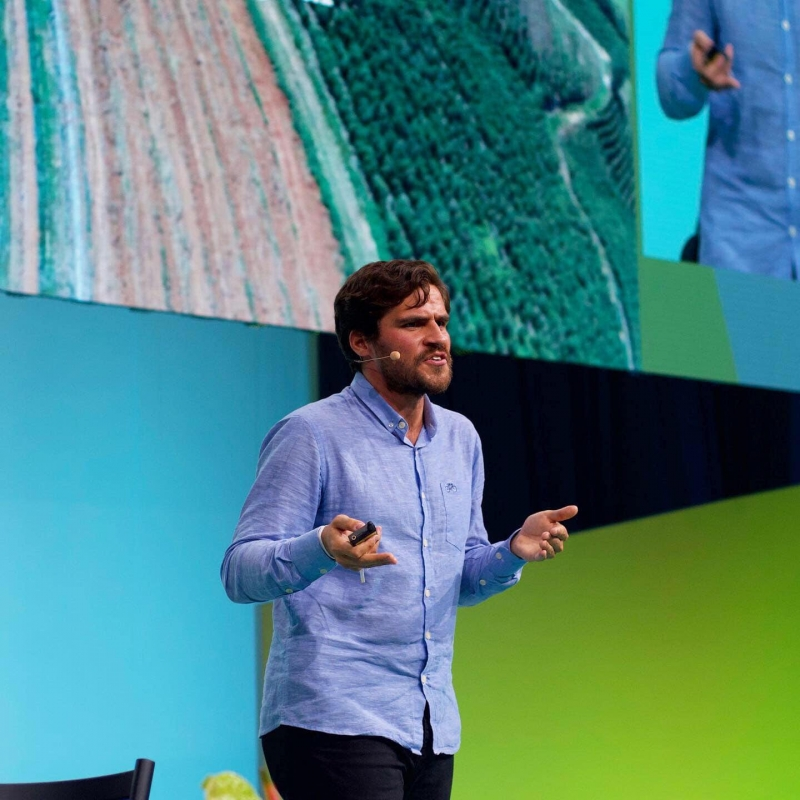 Felipe Villela destaca os benefícios da agrofloresta