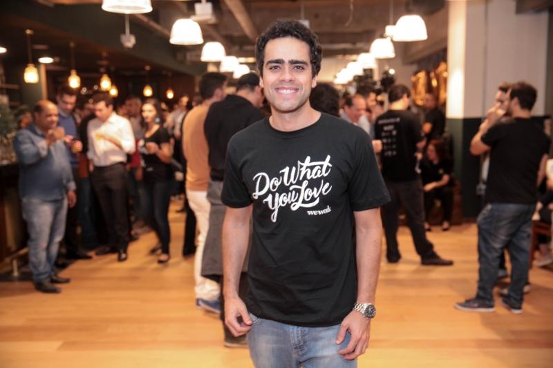 Lucas Mendes é diretor geral da WeWork no Brasil