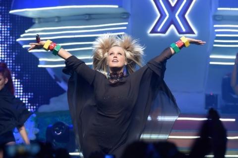 Xuxa celebra 36 anos de carreira na TV com show no Gigantinho