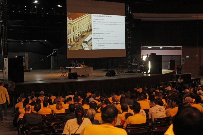 Foi a segunda plenária para discutir a concessão do Mercado Público de Porto Alegre