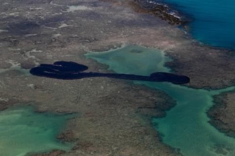 Estudo do governo federal indica 'baixa probabilidade' de óleo chegar a SP