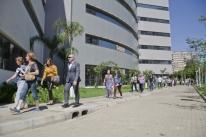 Vizinhos visitam novos anexos do Hospital de Clínicas de Porto Alegre