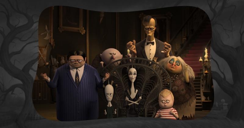 Nova produção remete aos desenhos de Charles Addams da década de 1930