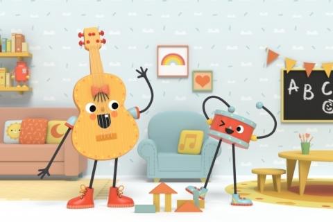 Série 'Viola e tambor', coproduzida por estúdio gaúcho, estreia no Disney Junior
