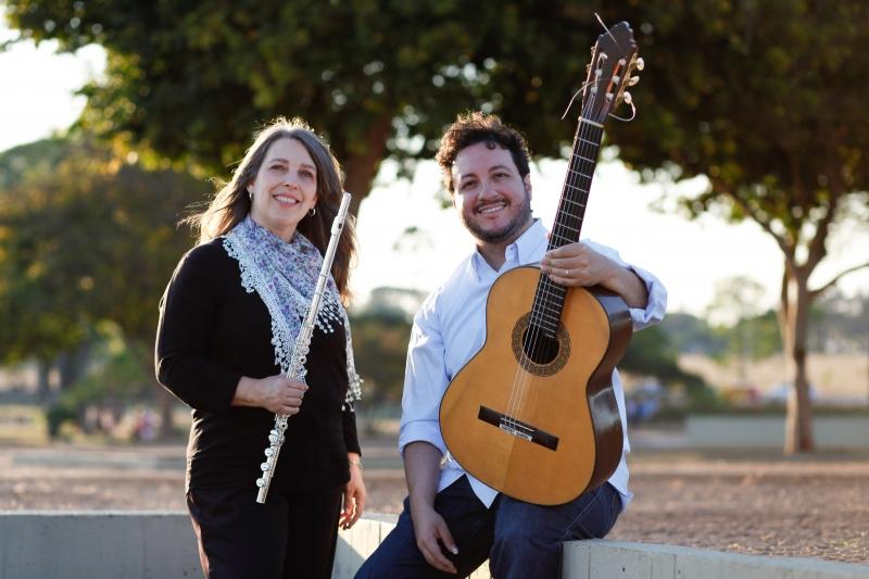 Diana Mota e Alvaro Henrique fazem apresentação gratuita na Sala de Música do Multipalco