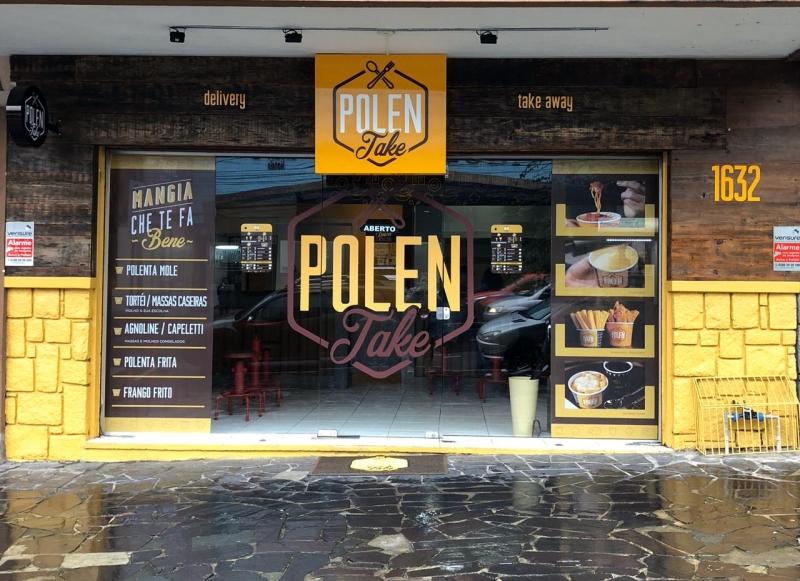 Polentake, restaurante especializado em culinária ítalo-brasileira, fica na 24 de outubro