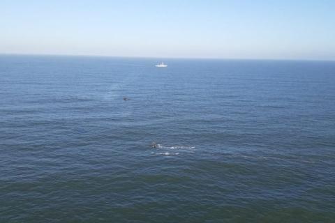 Marinha resgata último corpo de desaparecido em naufrágio no litoral gaúcho