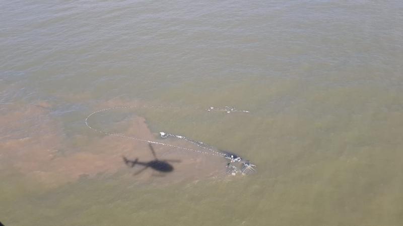 Equipes da Marinha fazem resgate de desaparecidos no litoral sul do Rio Grande do Sul