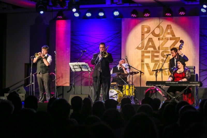 Show da banda norte-americana Davina &The Vagabonds foi um dos grandes momentos da 5ª edição