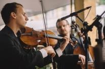 Orquestra de Câmara Theatro São Pedro se apresenta no encerramento da Feira do Livro