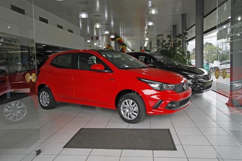 Segmento de automóveis registrou alta de 9,81%, superando a média nacional no período