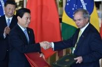 Brasil busca área de livre comércio com a China