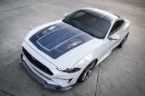 Ford revela protótipo elétrico do Mustang