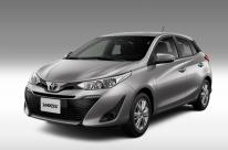 Toyota renomeia versões do Yaris
