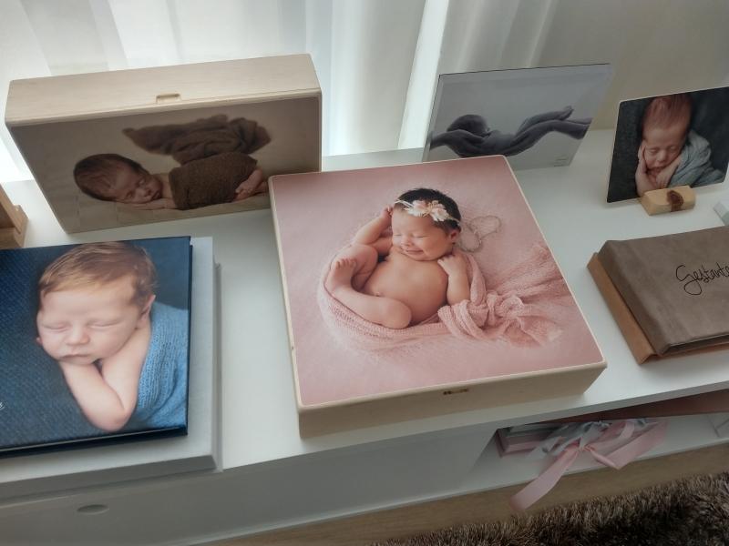Milenes Gensas se especializou em fotos de newborn