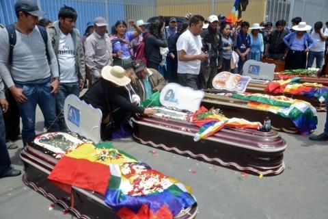 Governo interino da Bolívia isenta Forças Armadas de culpa penal