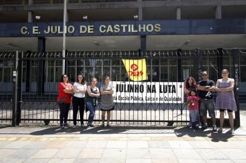 Primeiro dia de paralisação do Magistério gaúcho registra cerca de 490 escolas afetadas