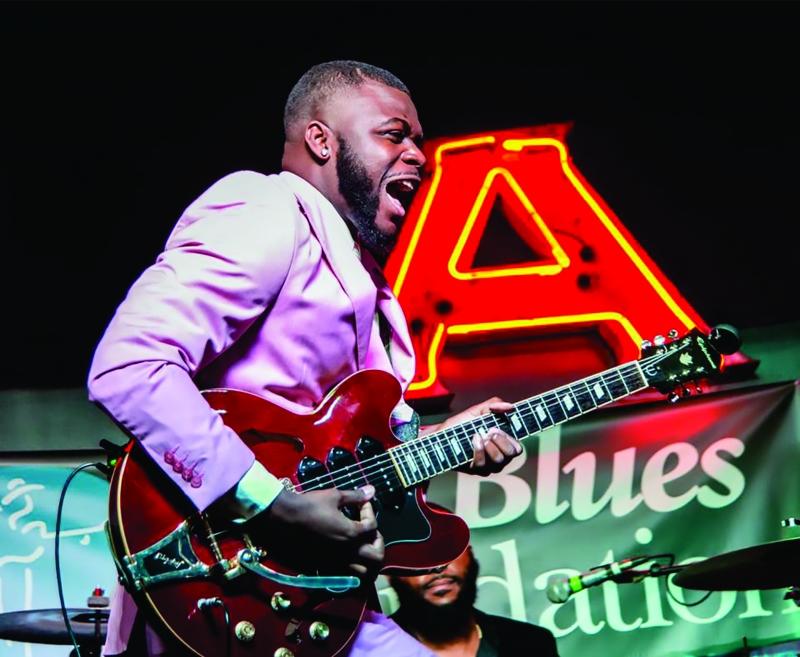 Keith Johnson é um dos artistas participantes do Mississippi Delta Blues Festival, em Caxias do Sul